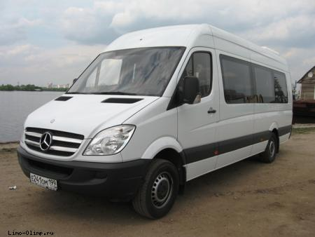Микроавтобус Мерседес Бенц Спринтер Mercedes-Benz Sprinter