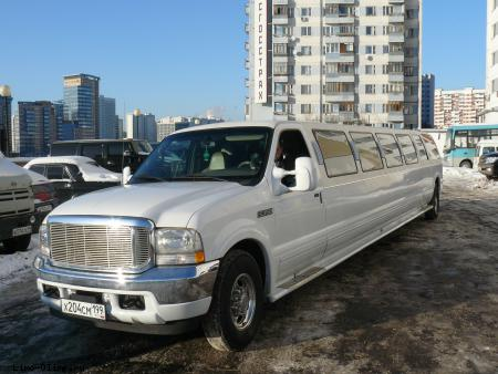 Джип-Лимузин Форд экскёршн Ford Excursion